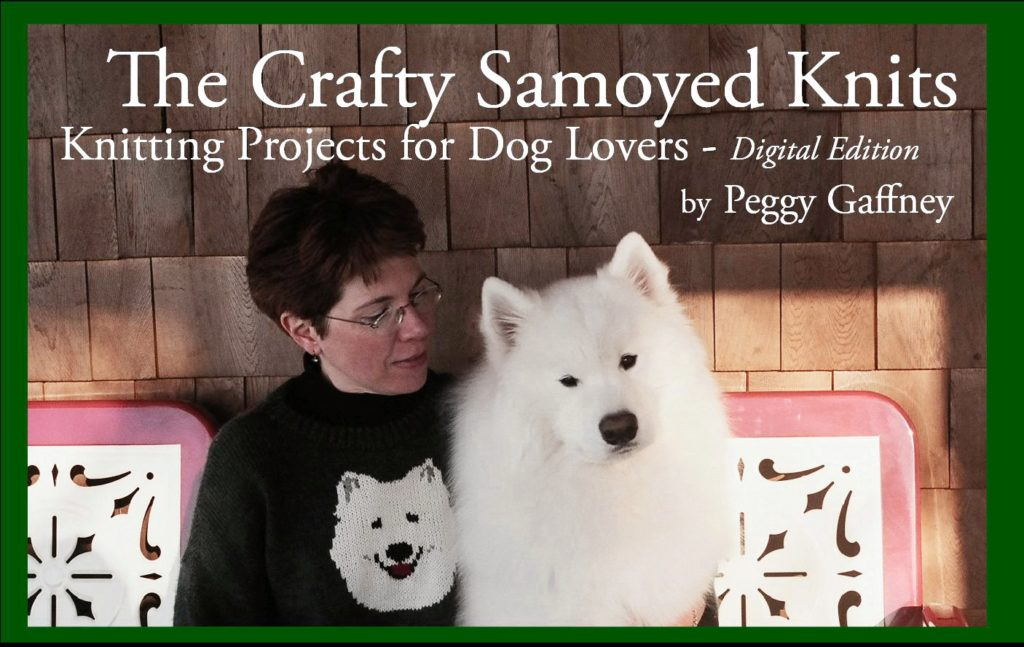 The Crafty Samoyed Knits - digital version cover